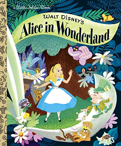9780736426701: Walt Disney's Alice in Wonderland (Little Golden Books)