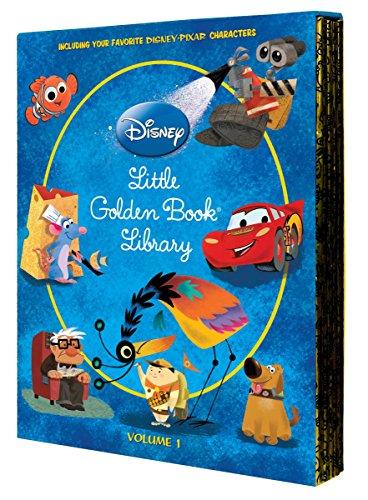 9780736426718: 1: Disney/Pixar Little Golden Book Library Set