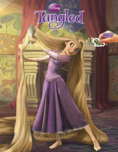 9780736426732: Tangled Reusable Sticker Book (Disney Tangled)