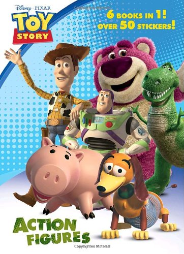 Action Figures (Disney/Pixar Toy Story 3) (Jumbo Coloring Book) by ...