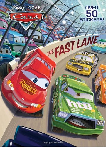 The Fast Lane (Disney/Pixar Cars) (Super Coloring Book)