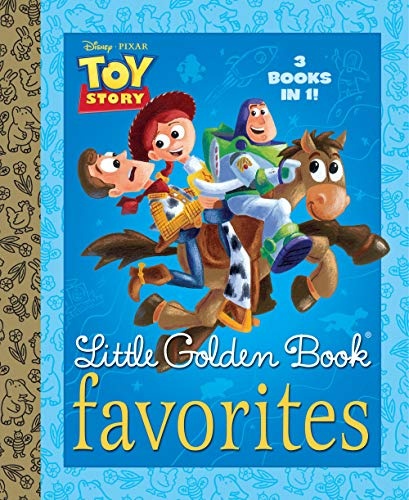 9780736427524: Toy Story Little Golden Book Favorites