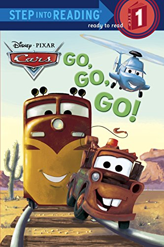 9780736427654: Go, Go, Go! (Disney/Pixar Cars) (Step into Reading)