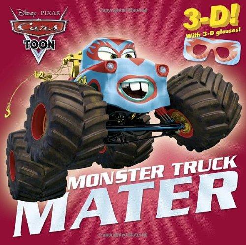 9780736427845: Monster Truck Mater [With 3-D Glasses] (Disney/Pixar Cars Toon)