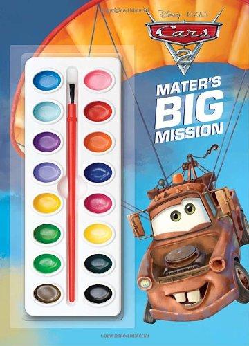 Mater's Big Mission (Disney/Pixar Cars 2) (Deluxe Paint Box Book): RH Disney