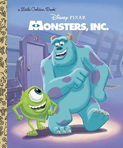 9780736427999: Monsters, Inc. Little Golden Book (Disney/Pixar Monsters, Inc.) (Little Golden Books)