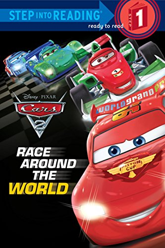 9780736428088: Race Around the World (Disney/Pixar Cars 2) (Step into Reading)