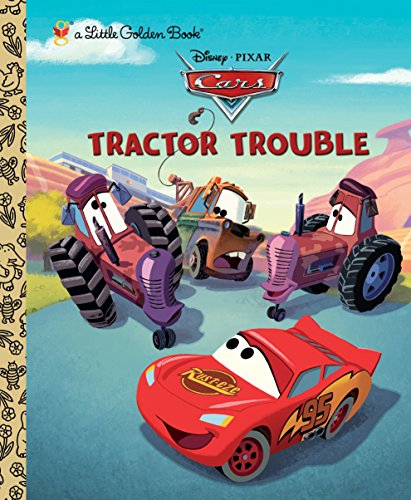 9780736428316: Tractor Trouble (Little Golden Books)