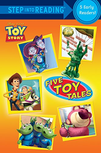 9780736428453: Five Toy Tales (Disney/Pixar Toy Story) (Step into Reading)