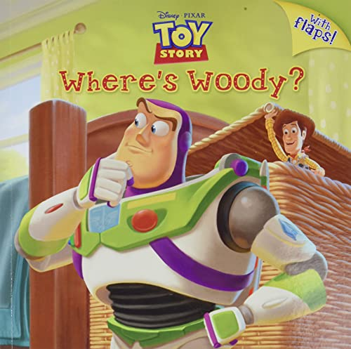 Where's Woody? (Disney/Pixar Toy Story) (Pictureback )