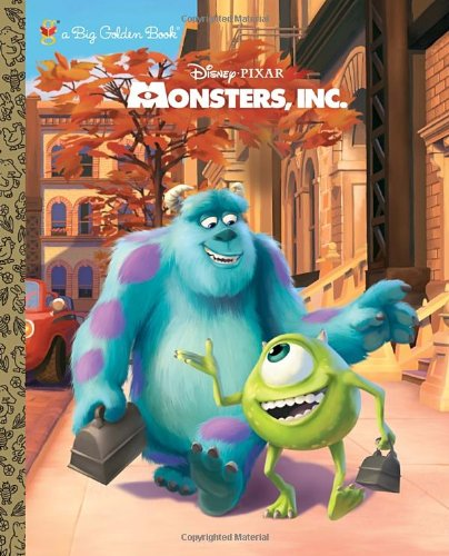 Monsters, Inc. Big Golden Book (Disney/Pixar Monsters, Inc.) (0736428550) by RH Disney