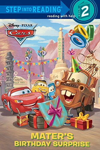9780736428583: Mater's Birthday Surprise (Disney/Pixar Cars) (Step into Reading)