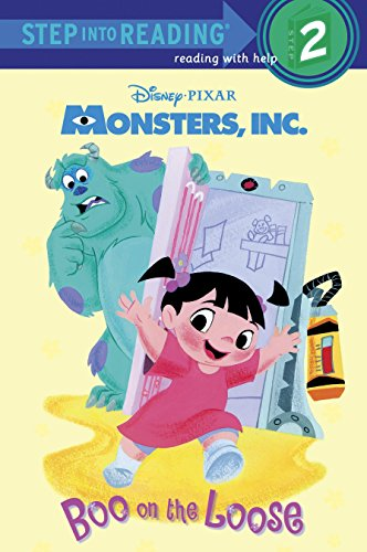 9780736428606: Boo on the Loose (Disney/Pixar Monsters, Inc.) (Step into Reading)