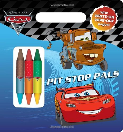 Pit-Stop Pals (Disney/Pixar Cars) (Write-On/Wipe-Off Activity Book): Berrios, Frank