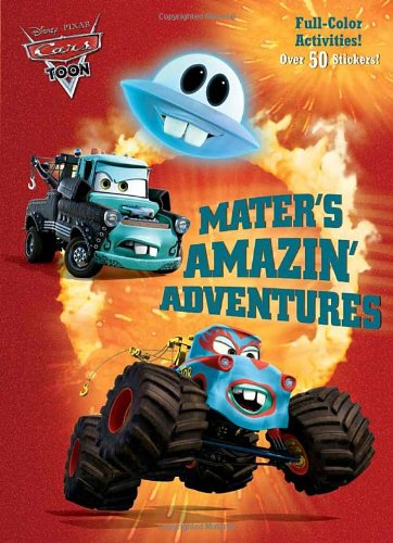 9780736428729: Mater's Amazin' Adventures Full-color Activity Book With Stickers