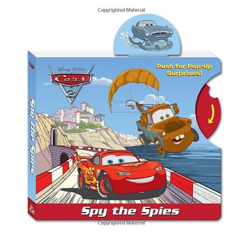9780736428828: Spy the Spies (Disney/Pixar Cars)