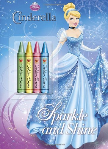 9780736428989: Sparkle and Shine (Disney Princess) (Color Plus Chunky Crayons)