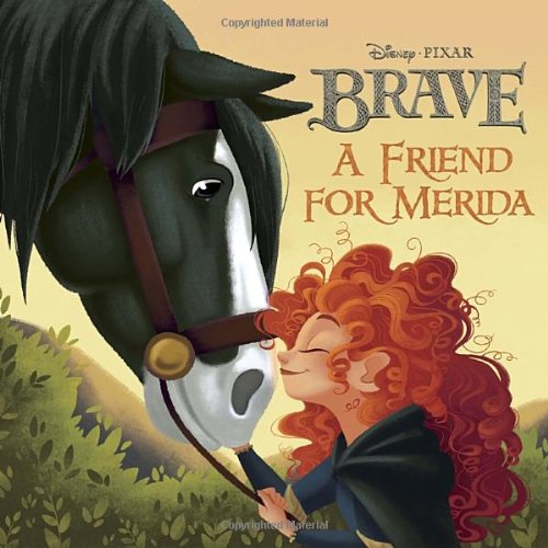 9780736429047: A Friend for Merida (Brave)
