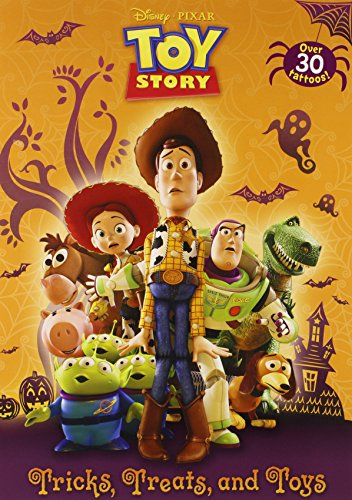 9780736429207: Tricks, Treats, and Toys [With Tattoos] (Disney/Pixar Toy Story)