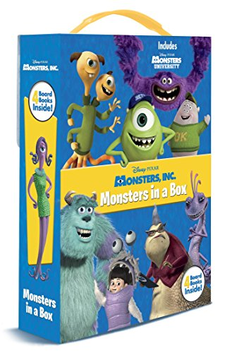 9780736429894: Monsters, Inc.: Monsters in a Box (Disney/Pixar Monsters University)