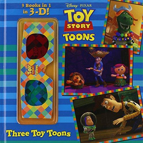 9780736430005: Three Toy Toons (Disney/Pixar Toy Story) (3-D Pictureback Favorites)