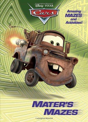 Mater's Mazes (Disney/Pixar Cars) (Deluxe Coloring Book): RH Disney