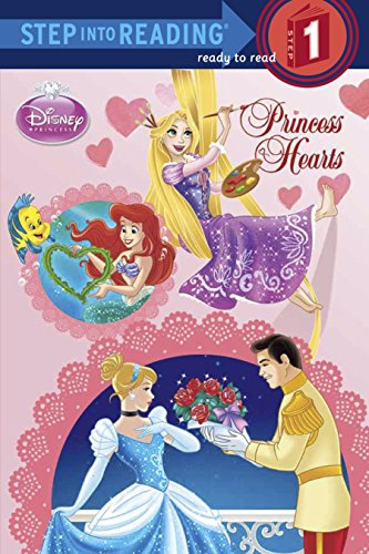 9780736430135: Princess Hearts (Disney Princess) (Step into Reading)