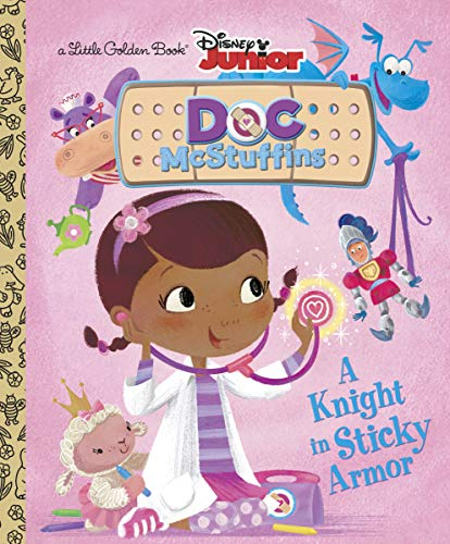 9780736430302: A Knight in Sticky Armor Little Golden Book
