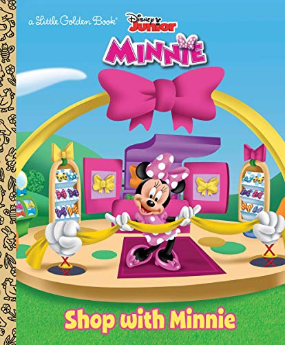 Shop with Minnie (Disney Junior: Mickey Mouse Clubhouse) (Little Golden Book) (0736430318) by Andrea Posner-Sanchez