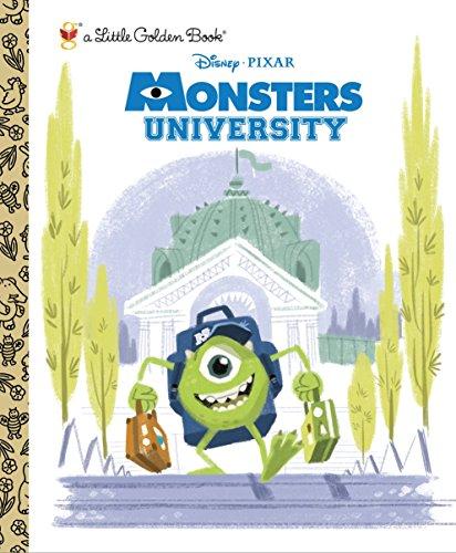 9780736430340: Monsters University (Little Golden Books (Random House))