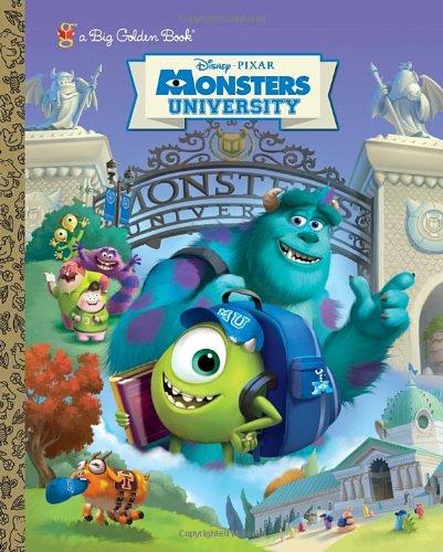 9780736430432: Monsters University Big Golden Book (Disney/Pixar Monsters University)
