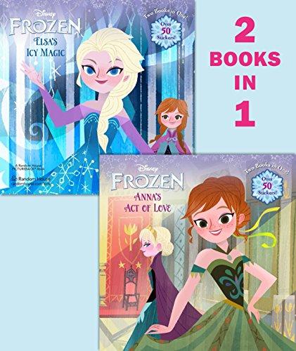 9780736430616: Frozen: Anna's Act of Love/Elsa's Icy Magic (Disney Frozen)