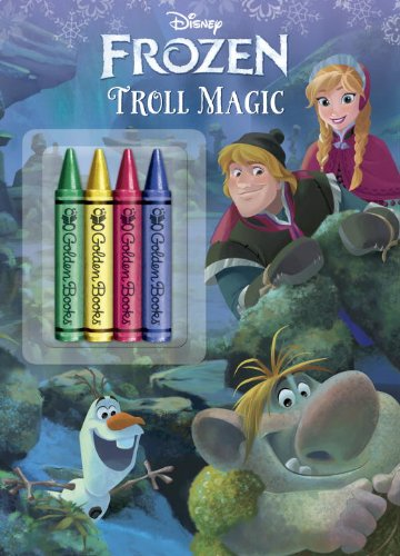 9780736430623: Troll Magic (Disney Frozen) (Color Plus Chunky Crayons)