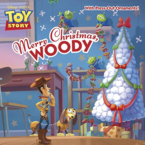 9780736430708: Merry Christmas, Woody [With Ornament] (Disney/Pixar Toy Story/Pictureback)