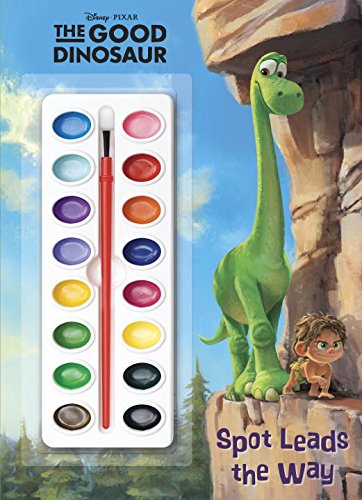 9780736430814: The Good Dinosaur Deluxe Paint Box Book