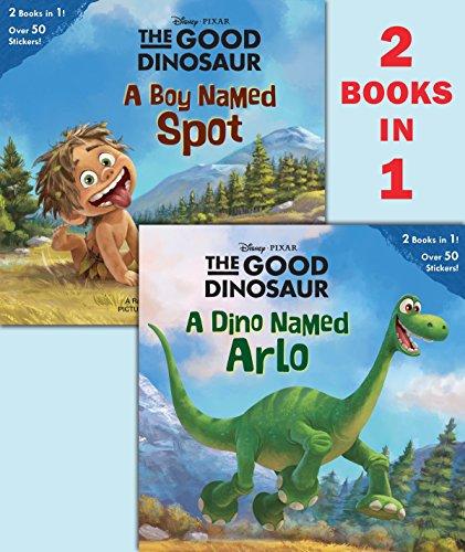 9780736430838: A Dino Named Arlo/A Boy Named Spot (Disney/Pixar the Good Dinosaur) (Pictureback Books)