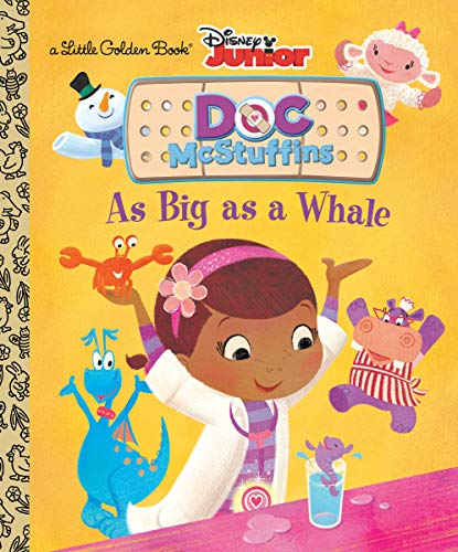 9780736430876: As Big As a Whale Little Golden Book