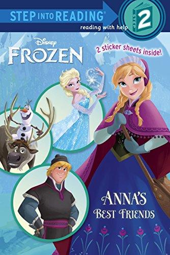 9780736430906: Anna's Best Friends (Disney Frozen) (Step into Reading)