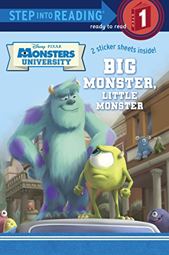 9780736430944: Big Monster, Little Monster [With Sticker(s)] (Step Into Reading. Step 1)