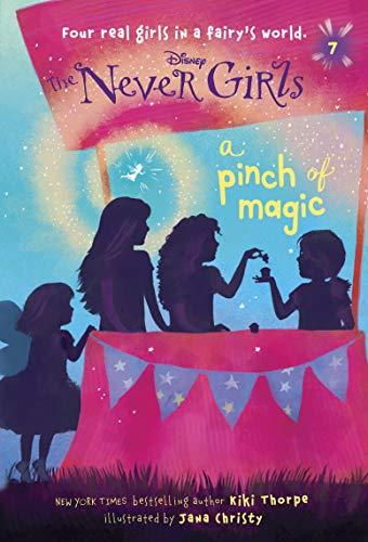 9780736430975: Never Girls #7: A Pinch of Magic (Disney: The Never Girls)