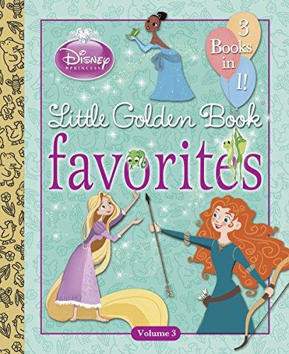 Disney Princess Little Golden Book Favorites Volume 3 Disney Princess