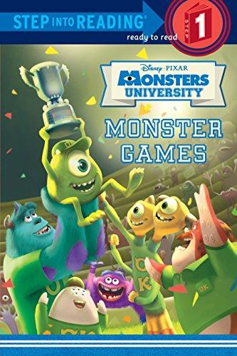 9780736431064: Monster Games (Disney/Pixar Monsters University) (Step into Reading)