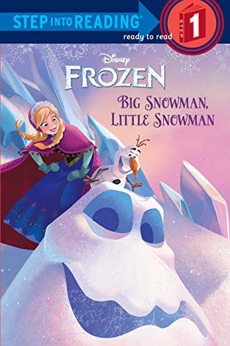 9780736431194: Big Snowman, Little Snowman (Disney Frozen) (Step into Reading)