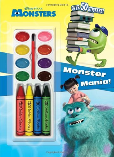 9780736431316: MONSTER MANIA!-COLOR