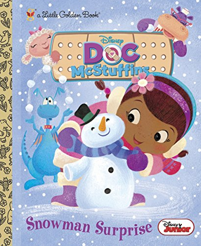 9780736431422: Snowman Surprise (Disney Junior: Doc McStuffins) (Little Golden Book)
