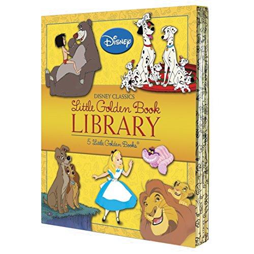 9780736431491: Disney Classics Little Golden Book Library (Disney Classic)