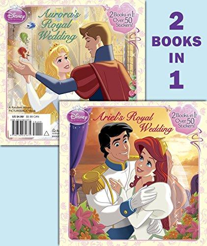9780736431675: Ariel's Royal Wedding/Aurora's Royal Wedding (Disney Princess)