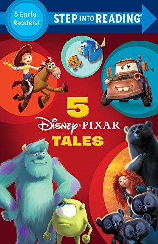 9780736431712: Five Disney/Pixar Tales (Disney/Pixar) (Step into Reading)