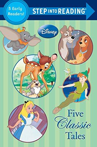 9780736431804: Five Classic Tales (Disney Classics) (Step into Reading)