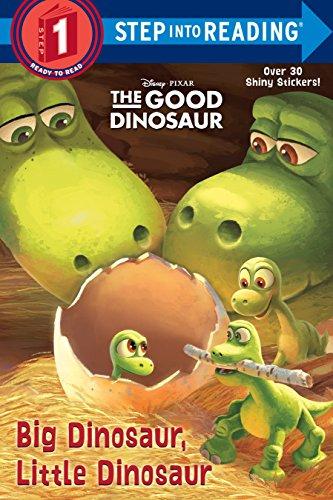 9780736432474: Big Dinosaur, Little Dinosaur (Disney/Pixar The Good Dinosaur) (Step into Reading)